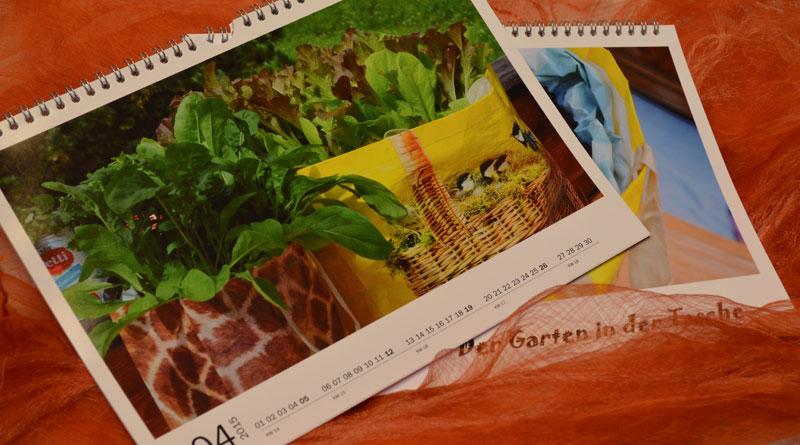 Der Garten in der Tasche – die Arbeit am Buch
